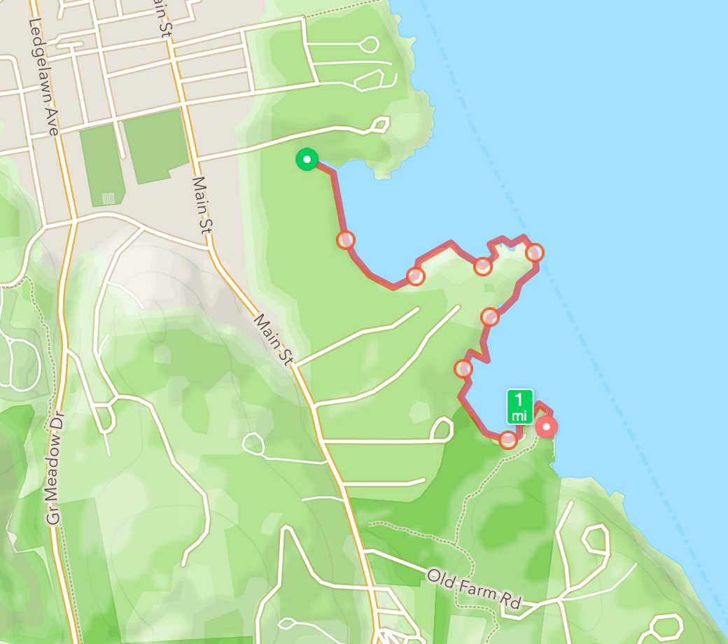 January 12: Cromwell Cove to Compass Harbor