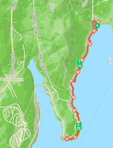 February 23: Sand Beach to Otter Point