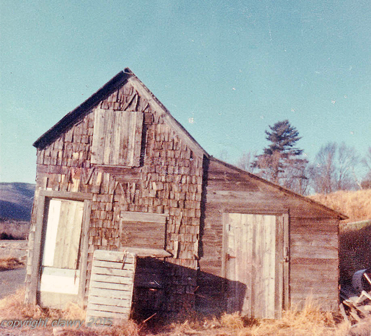 Walls fish house circa 1968. Photo courtesy of Cynthia Lawry.