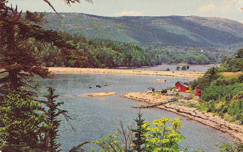 Otter Creek Cove sometime in the 1940s. Photo courtesy of Cynthia Lawry