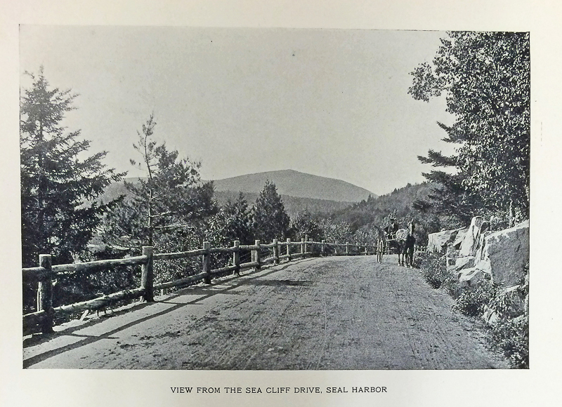 "Image from ""Northeast and Seal Harbors, Mount Desert, Maine"" souvenir photo booklet, courtesy of the Northeast Harbor Library"