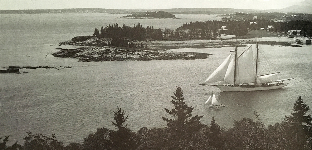 Photo from Vandenbergh and Shettleworth, Revisiting Seal Harbor, 1997.